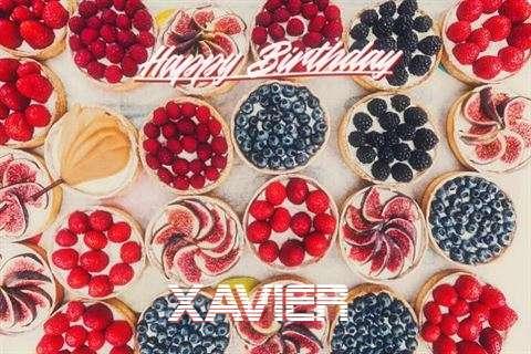 Happy Birthday Xavier Cake Image