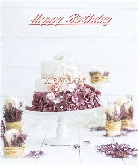 Happy Birthday to You Xavier