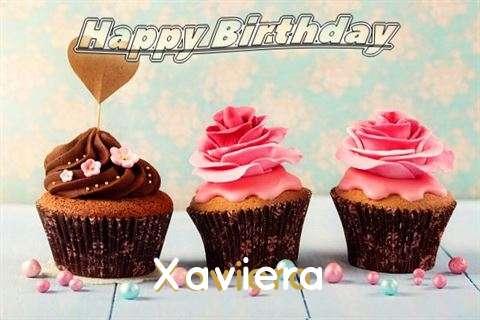 Happy Birthday Xaviera Cake Image