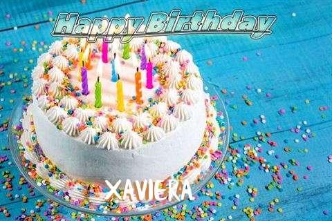 Happy Birthday Wishes for Xaviera