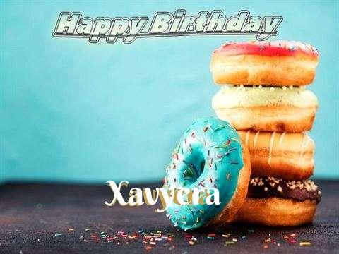 Birthday Wishes with Images of Xavyera