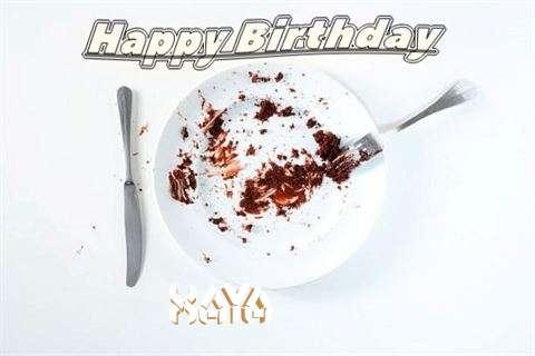 Birthday Wishes with Images of Xaya