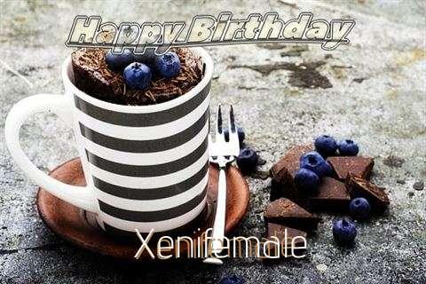 Happy Birthday Xenifemale Cake Image