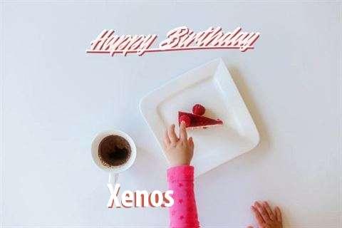 Happy Birthday Xenos Cake Image