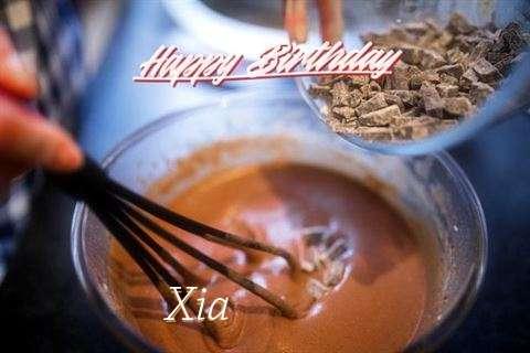 Happy Birthday Wishes for Xia