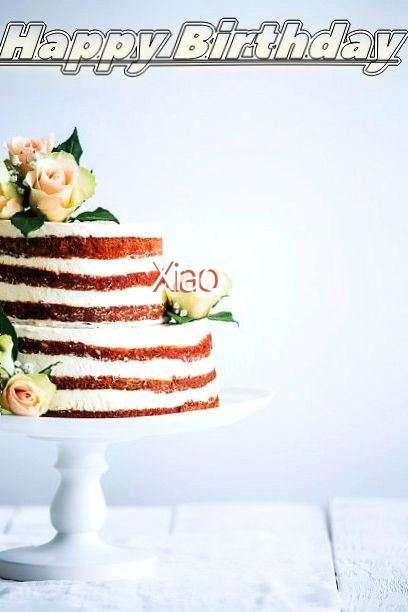 Happy Birthday Xiao Cake Image