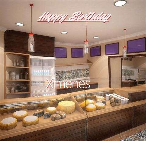 Happy Birthday Wishes for Ximenes