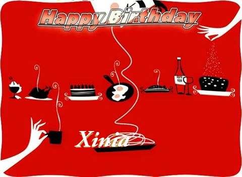 Happy Birthday Wishes for Xinia