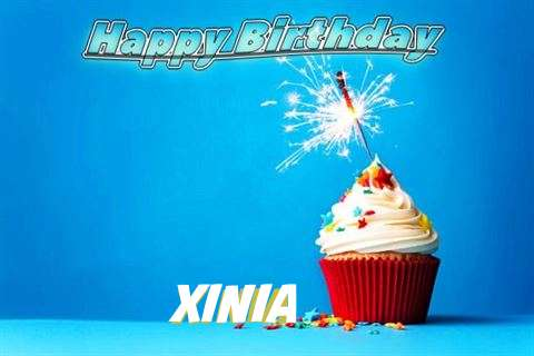 Happy Birthday to You Xinia