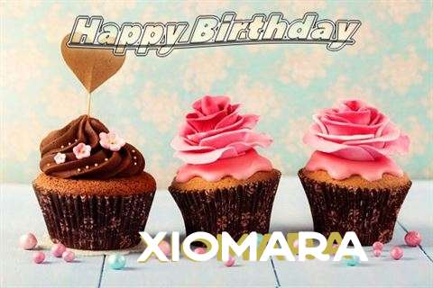 Happy Birthday Xiomara Cake Image
