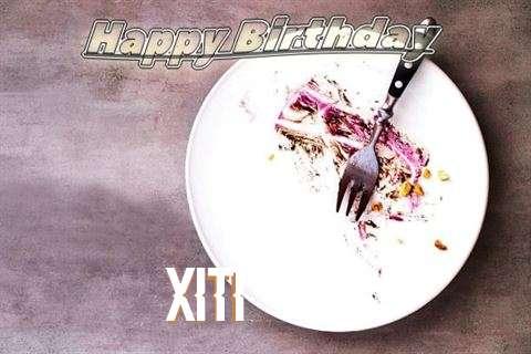 Happy Birthday Xiti Cake Image