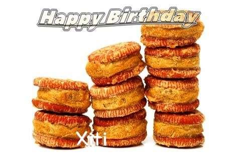 Happy Birthday Cake for Xiti