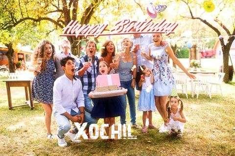 Happy Birthday Xochil