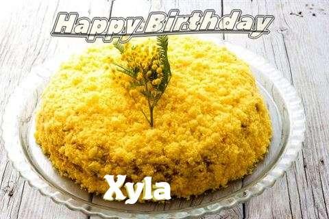 Happy Birthday Wishes for Xyla