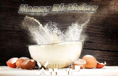 Happy Birthday Cake for Xylia