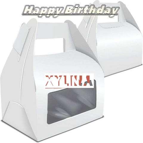 Happy Birthday Wishes for Xylina