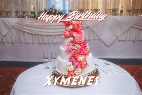 Happy Birthday to You Xymenes