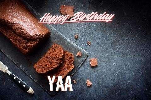 Happy Birthday Yaa Cake Image