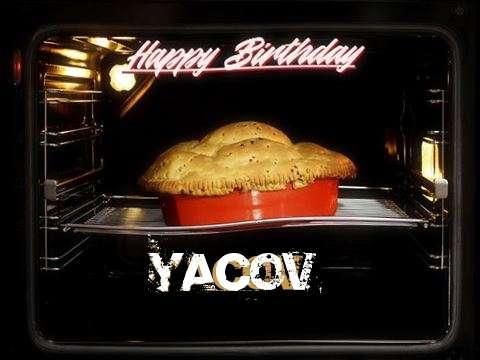 Happy Birthday Cake for Yacov