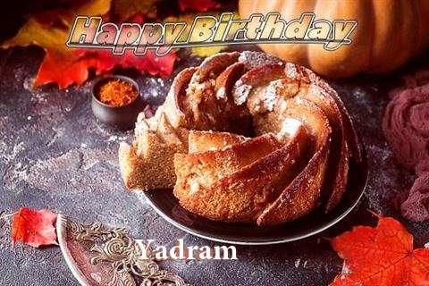 Happy Birthday Yadram
