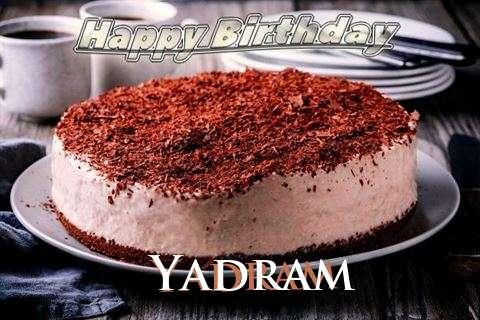 Happy Birthday Cake for Yadram
