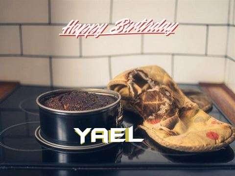 Happy Birthday Yael Cake Image
