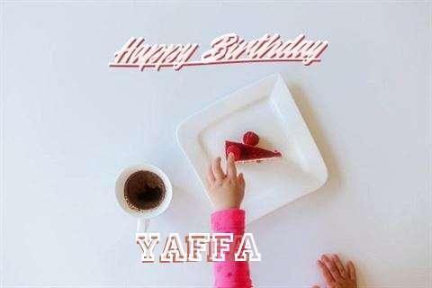 Happy Birthday Yaffa Cake Image