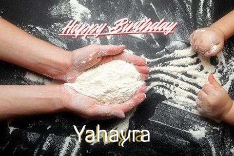 Happy Birthday Yahayra Cake Image