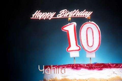Birthday Wishes with Images of Yahira