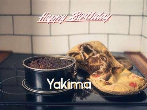 Happy Birthday Yakima Cake Image