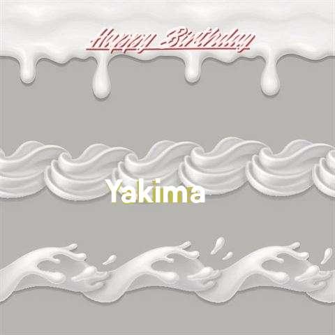 Happy Birthday to You Yakima