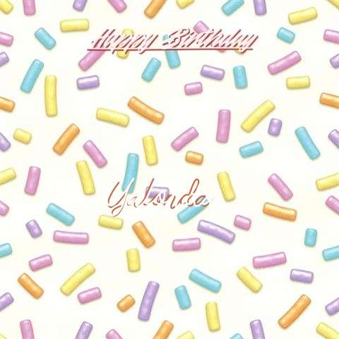 Birthday Images for Yalonda