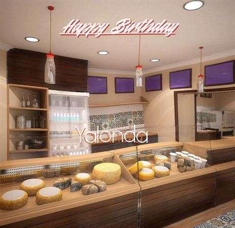Happy Birthday Wishes for Yalonda