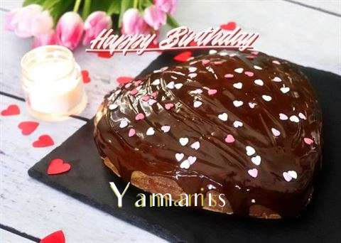 Happy Birthday Yamaris
