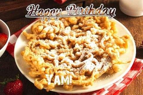 Happy Birthday Yami Cake Image
