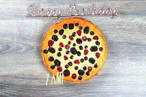 Happy Birthday Cake for Yami