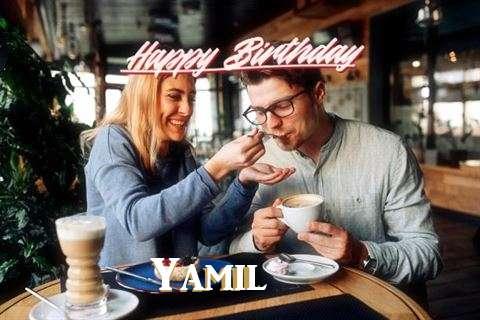 Happy Birthday Wishes for Yamil