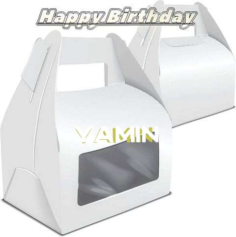 Happy Birthday Wishes for Yamin
