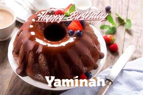 Happy Birthday Wishes for Yaminah