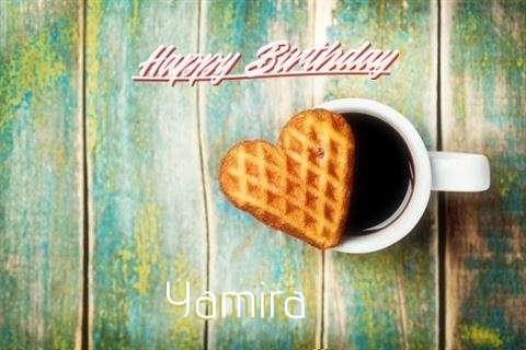 Birthday Wishes with Images of Yamira