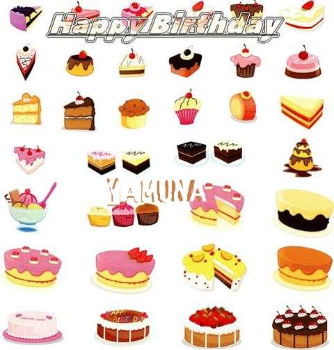 Birthday Images for Yamuna