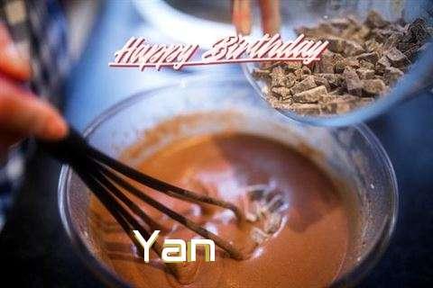 Happy Birthday Wishes for Yan