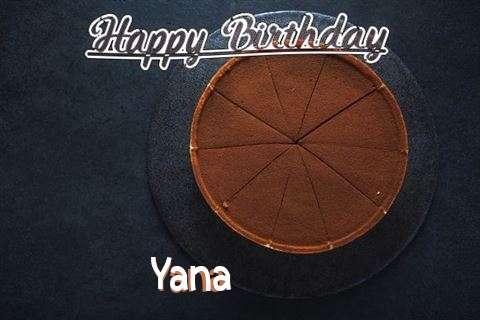 Happy Birthday to You Yana