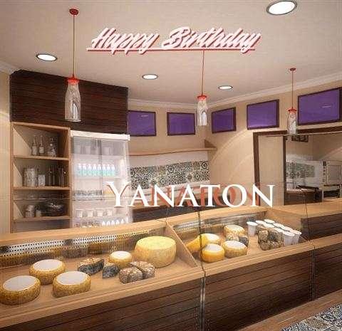 Happy Birthday Wishes for Yanaton