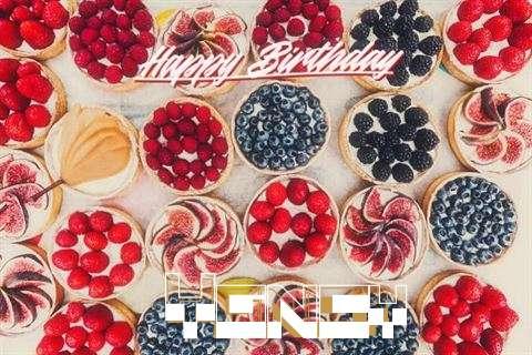 Happy Birthday Yancy Cake Image