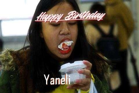 Birthday Wishes with Images of Yaneli