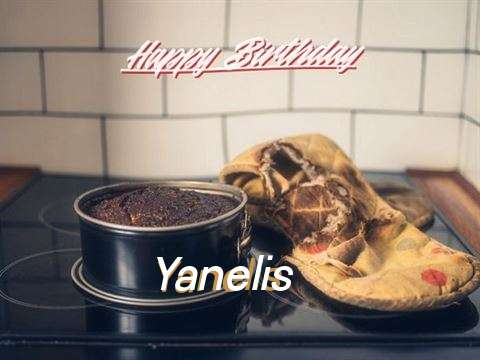 Happy Birthday Yanelis Cake Image