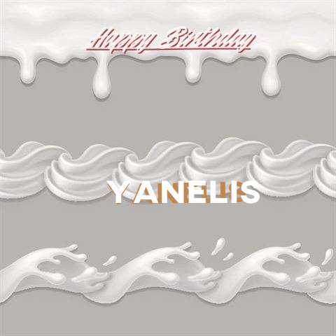 Happy Birthday to You Yanelis