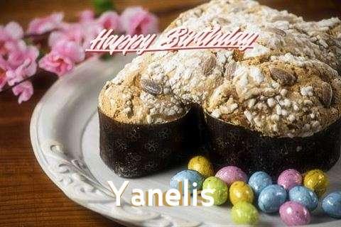Happy Birthday Cake for Yanelis