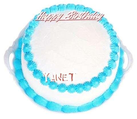 Happy Birthday Cake for Yanet